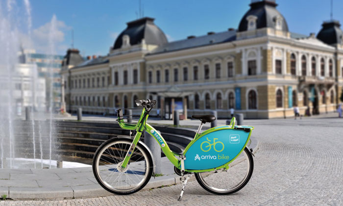 rriva launches bike-sharing scheme in Slovakia