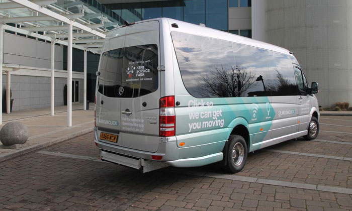 Arriva's on-demand public transport service seeing results