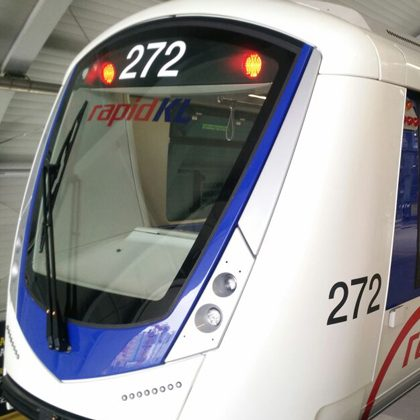 Bombardier INNOVIA Metro 300 trains for the Kelana Jaya Light Rail Transit (LRT) Line in Malaysia (credit: Bombardier)