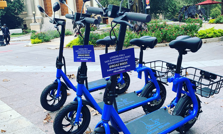 Seated e-scooters launched in Atlanta