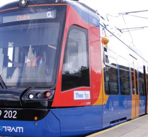 Minister launches first Citylink tram train into service