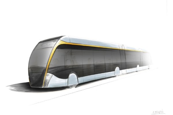 Conceptual tram-bus revealed in Milan