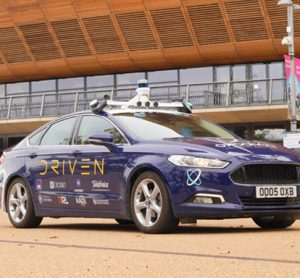 DRIVEN project autonomous car in London