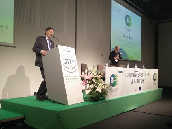 EU-funded EBSF_2 project launched at UITP World Congress