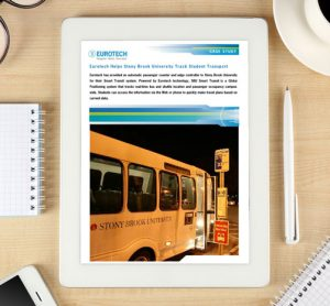 Case study: Eurotech helps Stony Brook University track student transport