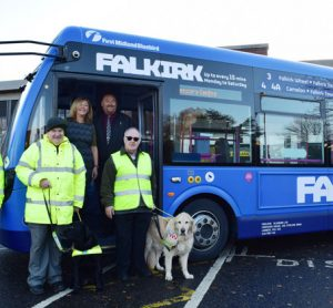 First Bus drivers get up to speed with sensory loss