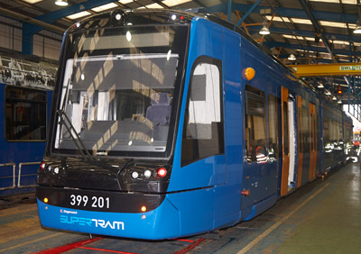 South Yorkshire welcomes UK's first Tram Train