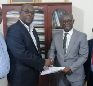 Ghana light rail study MoU signing