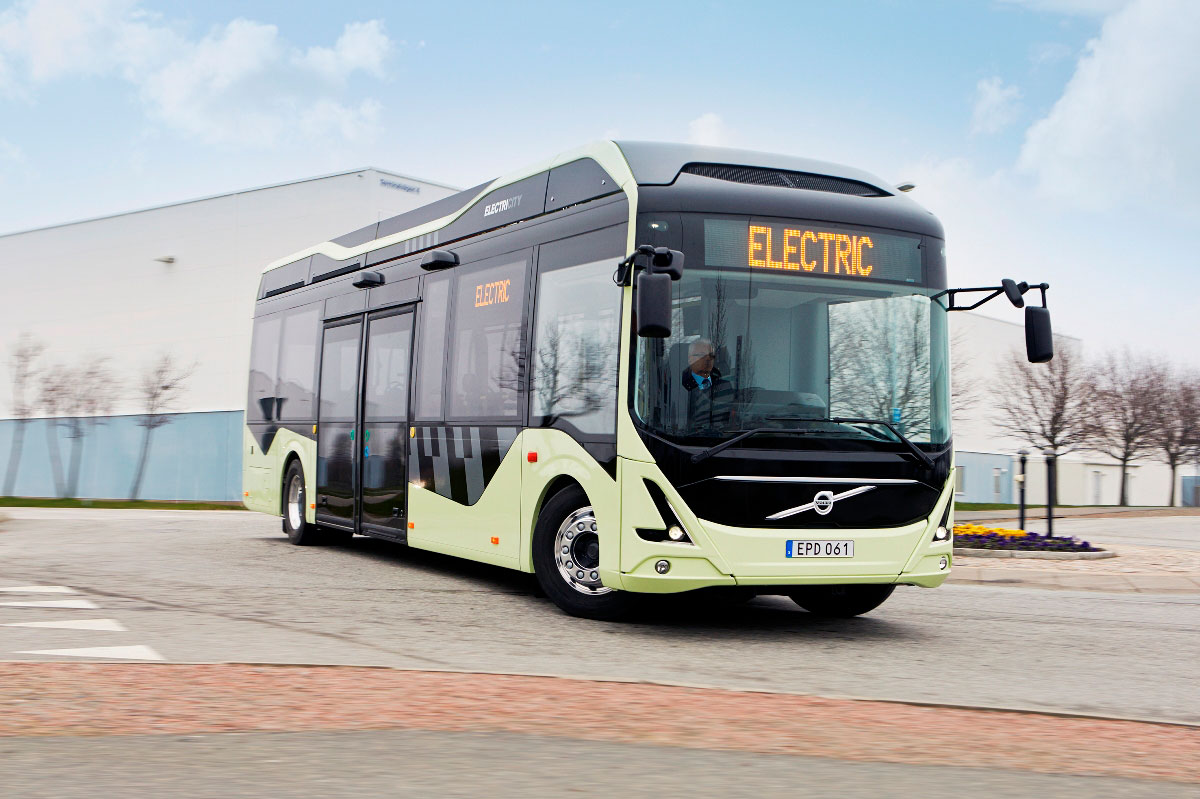 Gothenburg welcomes Volvo electric buses