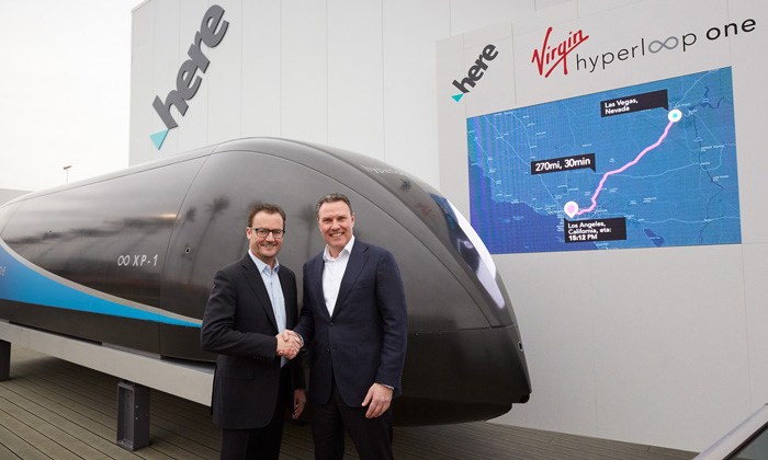 Virgin Hyperloop One demos end-to-end passenger experience app