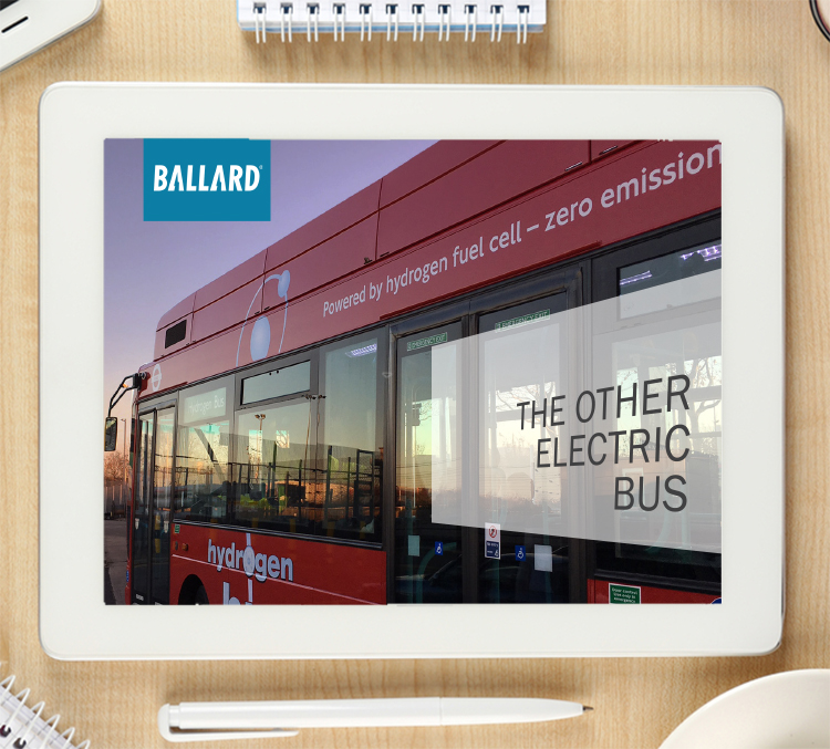 Ballard Power Systems: A fuel cell bus is an electric bus