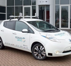 A Nissan led car project is bringing autonomy to UK roads