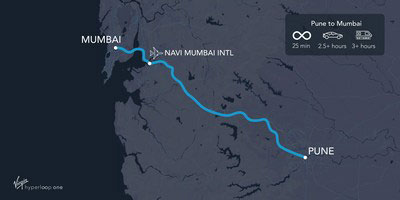 Hyperloop demonstration track has been agreed in India