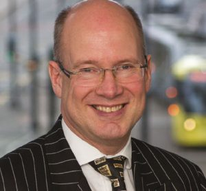 Jon Lamonte, Chief Executive TfGM and Deputy Lieutenant for Greater Manchester