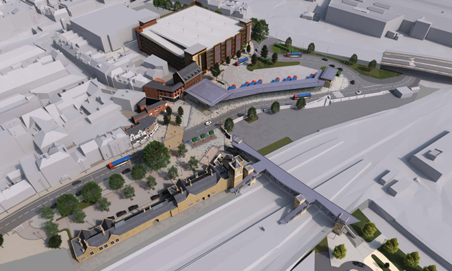 Government announces funding for £29m Lincoln Transport Hub
