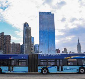 MTA deploys first all-electric articulated bus fleet