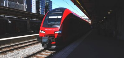 MTR Express train in Stockholm Sweden