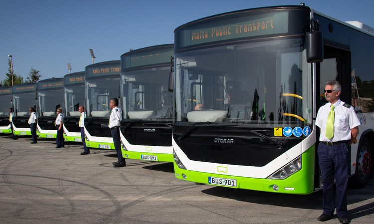 Malta's bus fleet continues to grow as passenger numbers also increase