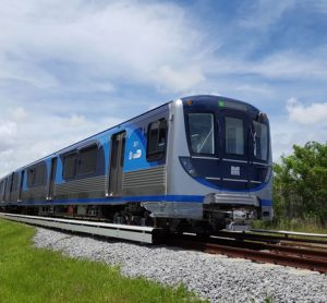 New Metrorail train placed in Miami-Dade County expected to bring great improvements.