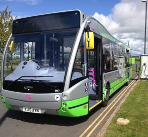New fully electric fleet of buses for Park & Ride scheme