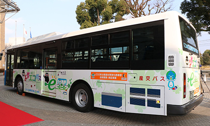 Japan's electric bus test will use Nissan LEAF technology