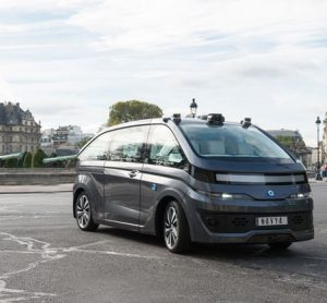 NAVYA unveils first fully autonomous taxi