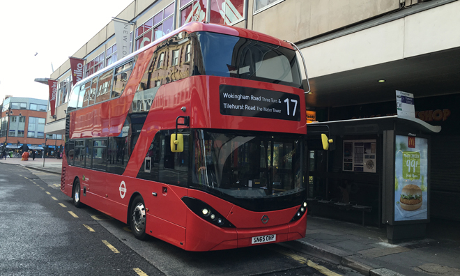 Reading Buses trials new bus types to speed up route