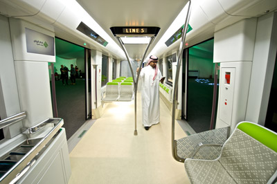Riyadh Metropolis train