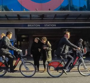 Brixton has welcomed the arrival of Santander Cycles