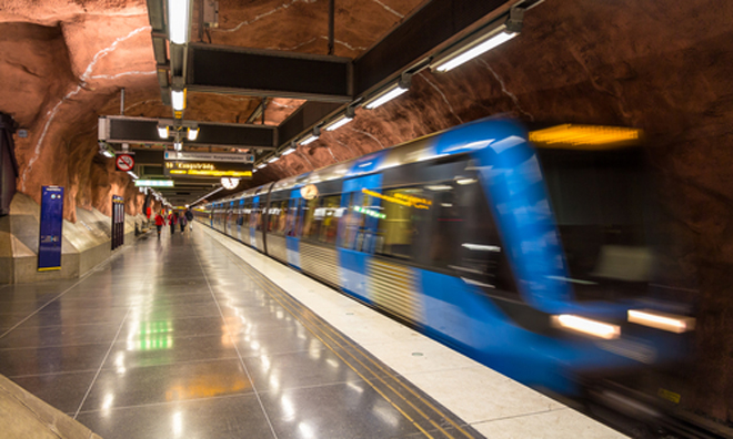 Record punctuality achieved on Stockholm Metro