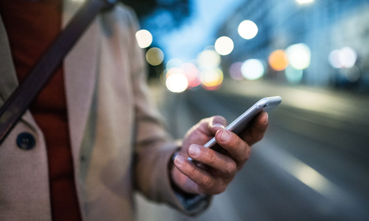 Transport services via mobile smart phone