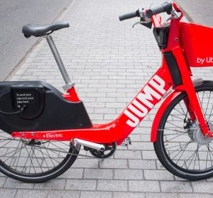 Uber Jump bicycles now available in Rome