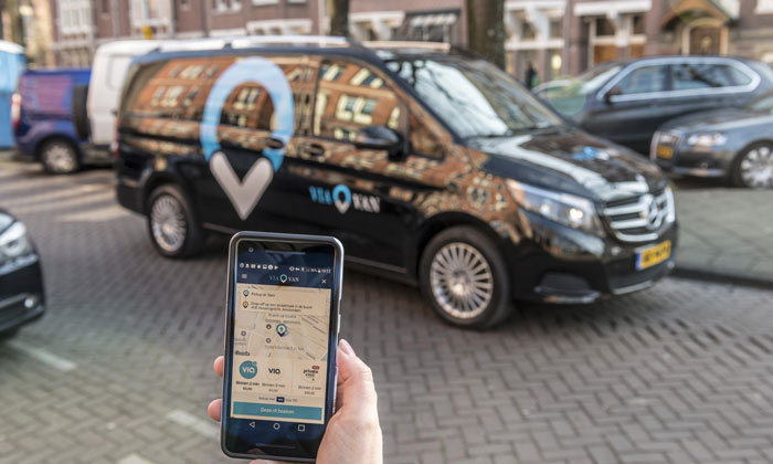 Londoners now have access to an 'e-hail' ride-sharing service: ViaVan