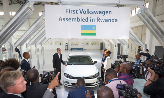 Volkswagen branches into Rwanda with car-sharing service