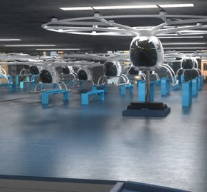 Air taxis to be integrated into public transport networks