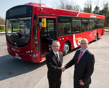 Volvo Bus with Phil Fletcher and Andrew Wickham