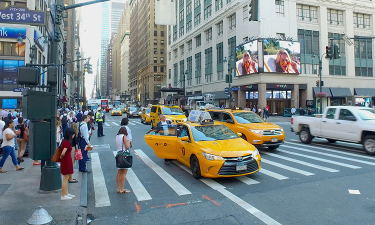New York limits the number of ride-hailing cars allowed to operate in the city