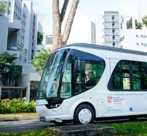 Ultra-fast charging electric shuttle launched by NTU and BlueSG