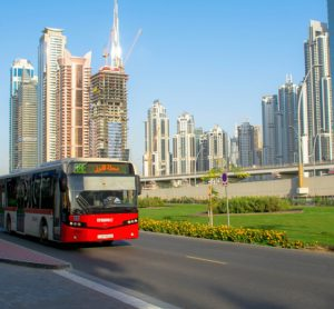 bus driving in Dubai