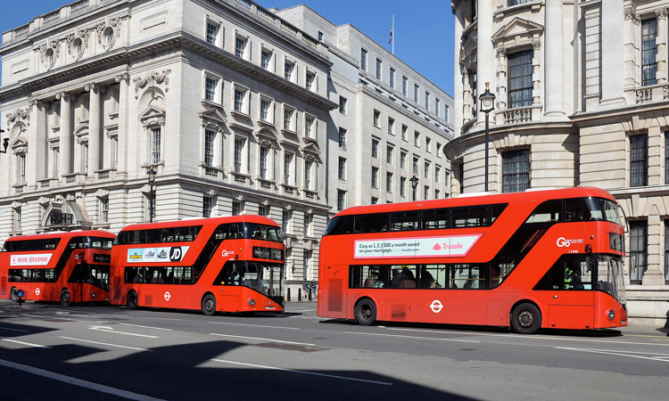 London bus fleet