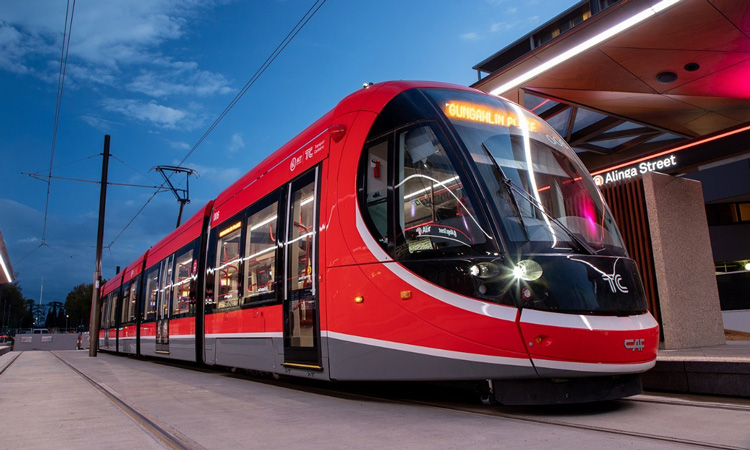 How the city is adapting to Canberra's Light Rail system