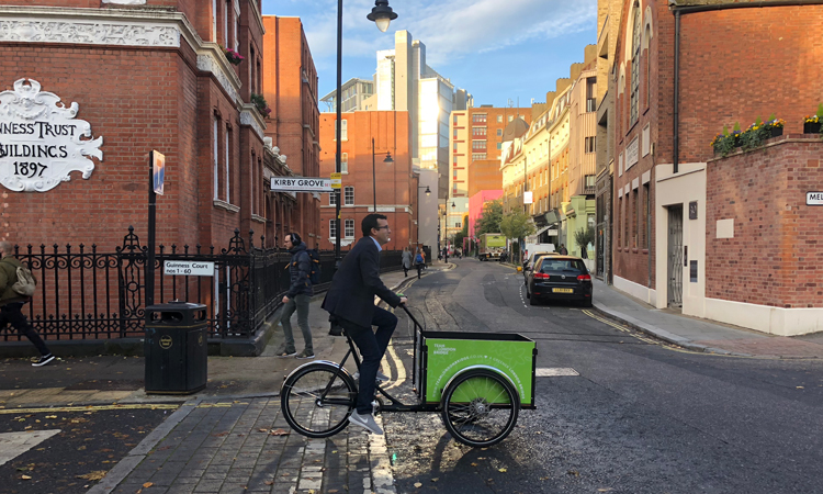 Prepare for the ULEZ by switching to cargo bike delivery