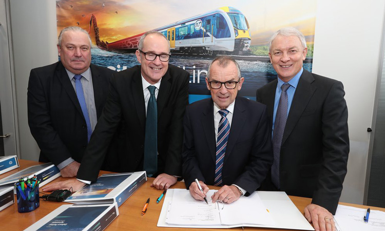 Companies sign up for Auckland's City Rail Link project