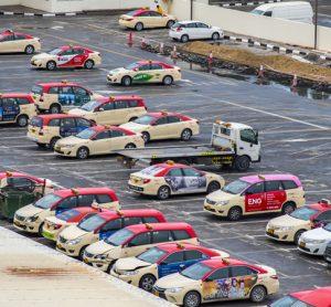 Dubai taxi fleet