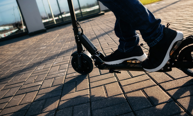 E-scooters set to be trialled in the UK for the first time