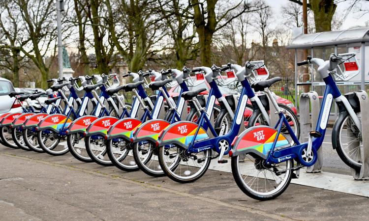 E-bike scheme goes live in Edinburgh
