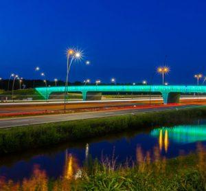 high tech bridge