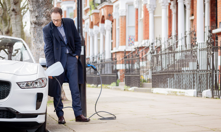 UK's first 'Electric Avenue' unveiled in Westminster