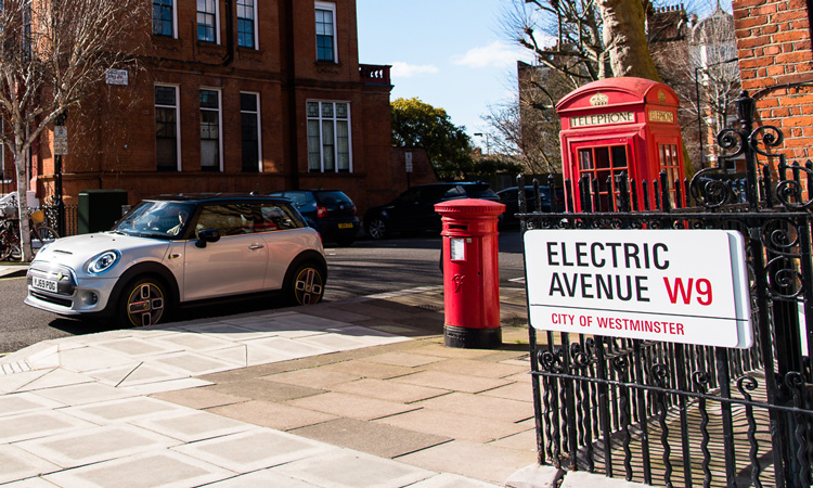 electric avenue road sign