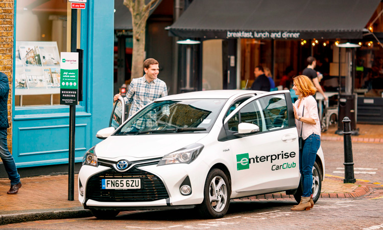 Enterprise Car Club and Liftshare launch car sharing offer